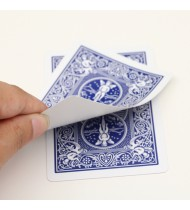 Blank Face Bicycle Cards (Blue) Single Pc