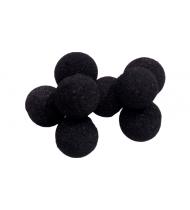 Mini Super Soft Sponge Ball (Black) Bag of 8 from Magic by Gosh