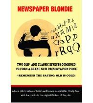 Newspaper Blondie