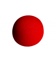 4 inch Super Soft Sponge Ball (Red) from Magic by Gosh