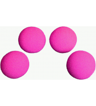 1.5 inch HD Ultra Soft  Hot Pink Sponge Ball Set of 4 from Magic by Gosh