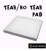 No Tear Pad (Small, 3.5 X 3.5, Tear/No Tear Alternating) by Alan Wong