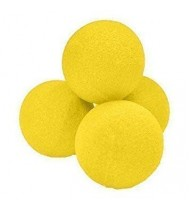 2 inch Super Soft Sponge Ball (Yellow) Bag of 04 from Magic by Gosh