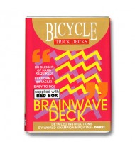 Brainwave Deck Bicycle (Red Case) -  Trick