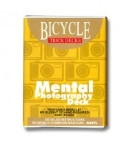 Mental Photo Deck Bicycle (Blue) - Trick