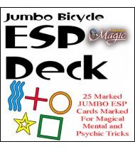 Jumbo Marked ESP Decks (Bicycle) - Trick